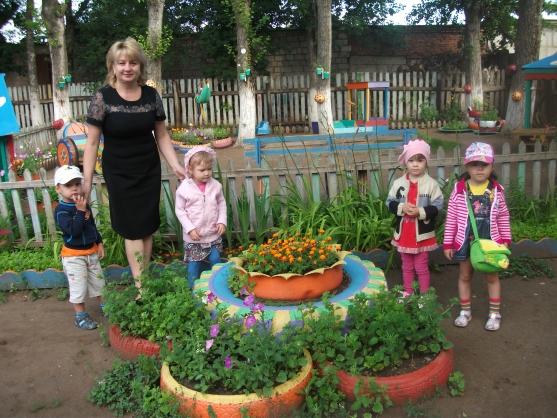 Картинки с оформлением участка в детском саду