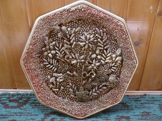 Панно из макаронных изделий