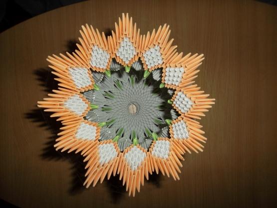 страна мастеров оригами модульное вазы.