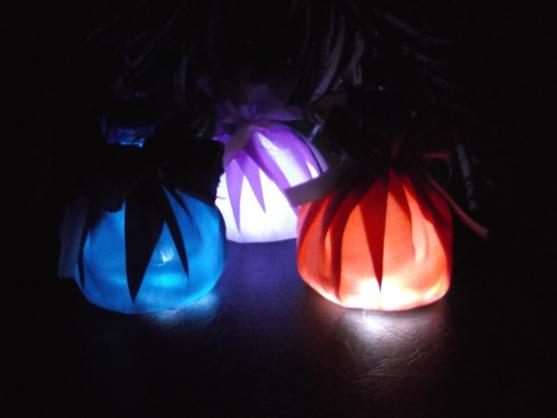 Новогодние фонарики