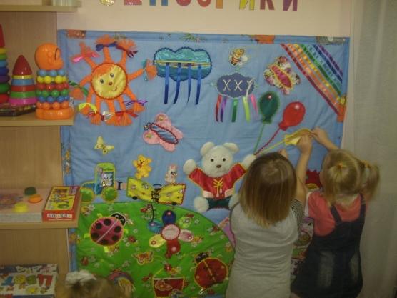 Сенсорный уголок своими руками в детском саду фото