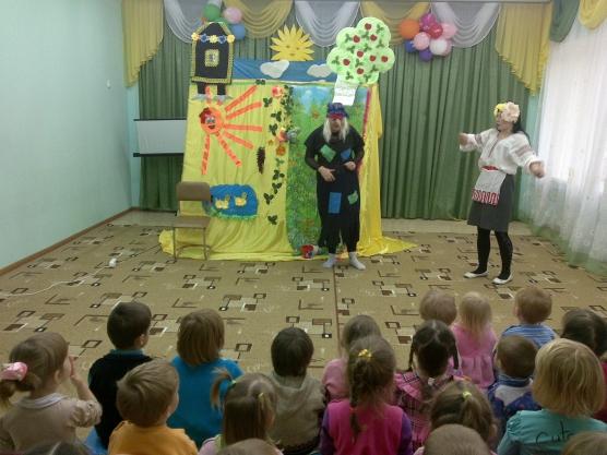 Сценарий сказки теремок для детей 3-4 лет