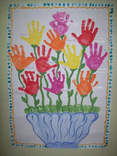 Открытка для мам во второй младшей группе, поздравления открыток