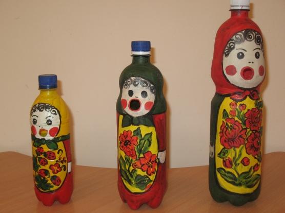 Матрёшка своими руками из пластиковых бутылок