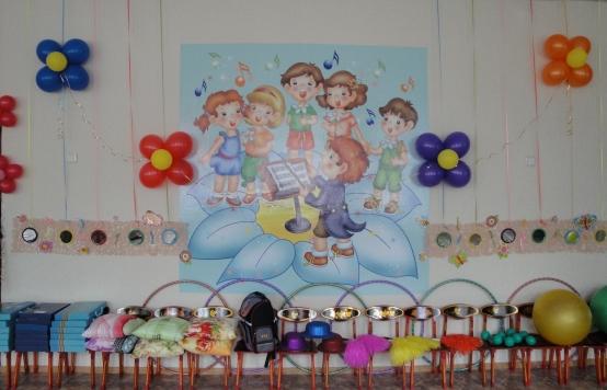 Оформление стены музыкального зала в детском саду своими руками фото