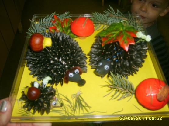 Поделки из овощей (104 фото) - для школы и сада 94