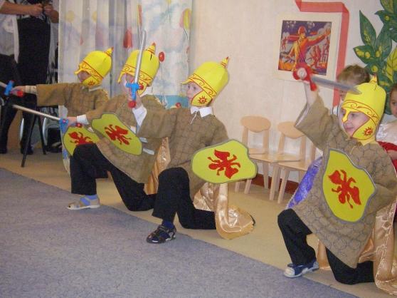 Проект «Русские богатыри», старший дошкольный возраст