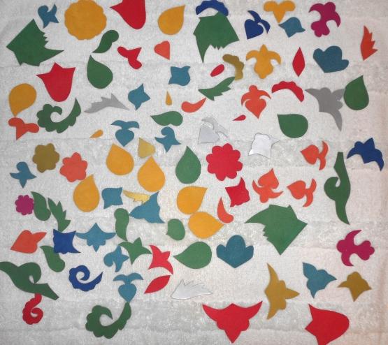 образцы татарских национальных орнаментов 7 элементов орнамента