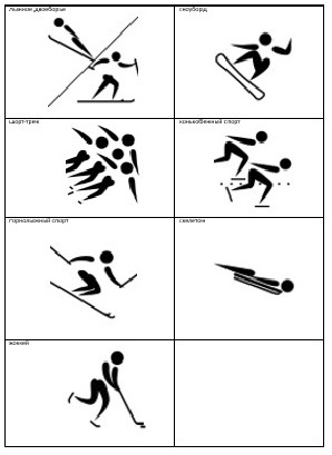 олимпийские виды спорта познакомить дошкольников
