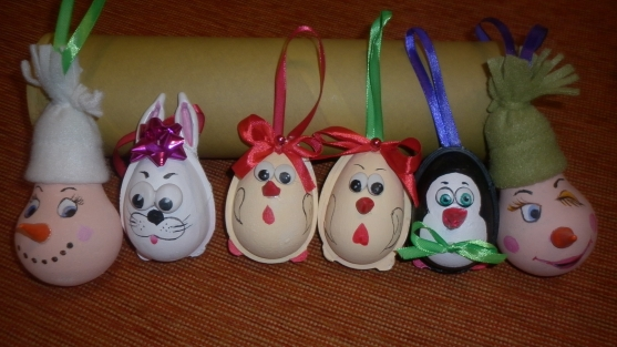 Ёлочные игрушки своими руками для детского сада фото