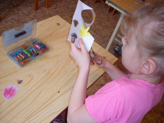 знакомство детей с работой художника