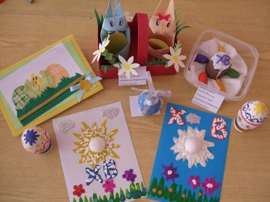 С Праздником Святой Пасхи! Пасхальные работы воспитанников детского сада 5 лет