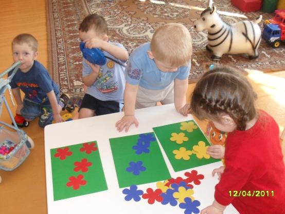 Дидактические игры для детей 1-2 лет своими руками