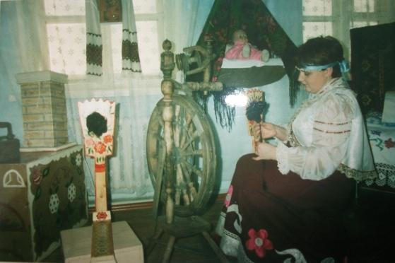 знакомство детей с музеем русской избы