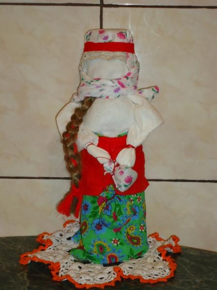 Защита проекта «Кукла-оберег своими руками» (руководитель проекта воспитатель Первышова А. И.)