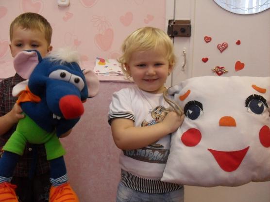 знакомства психолога с детьми