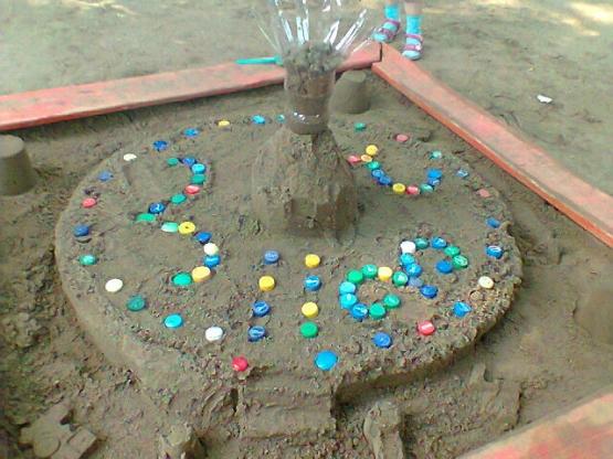 Фото поделок из песка