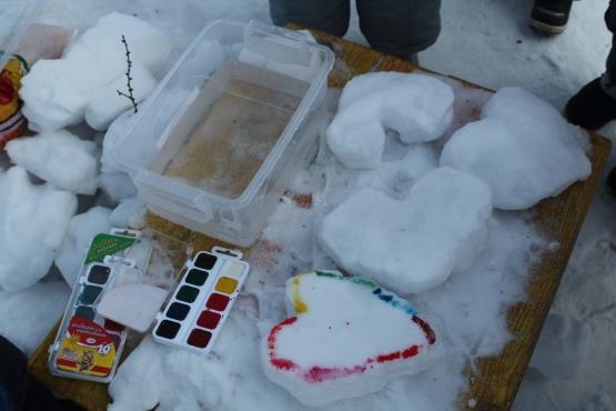 """Нетрадиционное рисование на прогулке. Вторая младшая группа. """"Юные художники"""". Воспитателям детских садов, школьным учителям и п"""