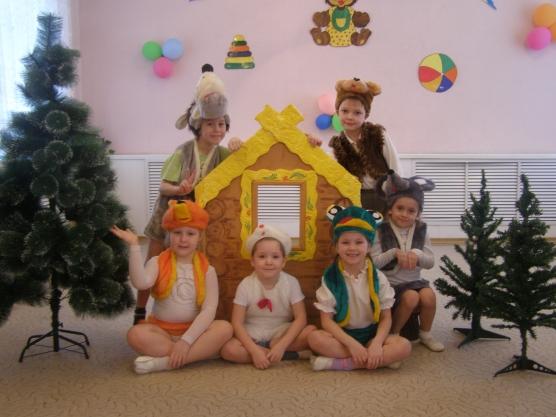 Сценарий сказки в детском саду младшая группа