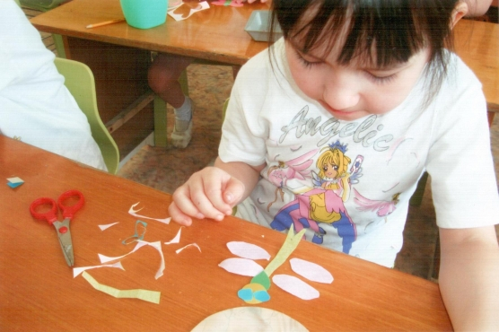 конспект занятия в детском саду волшебные клубочки