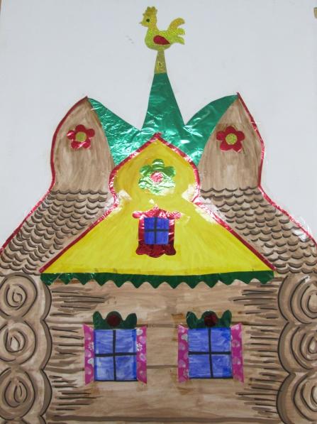 Постановка сказки «Царевна— Лягушка» в старшей группе детского сада