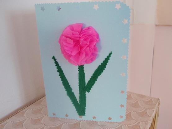 Лет дочь, цветы для папы открытка