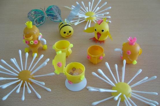 Мастер класс поделки из бросового материала для детского сада