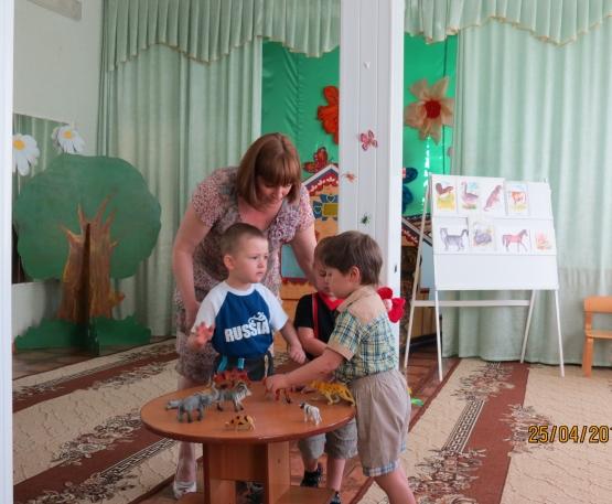 знакомство детей младшей группы с кругом