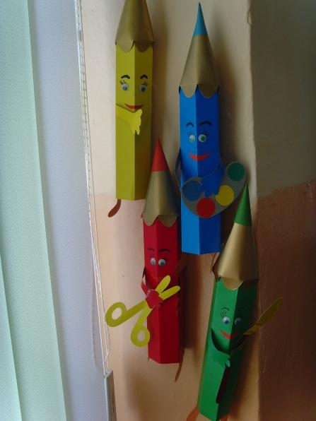 «Веселые карандаши.» Мастер-класс