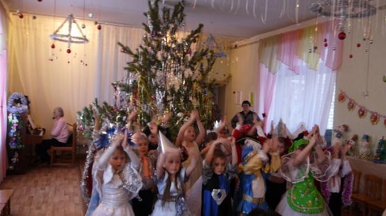 Новогодний праздник «Золушка на балу»