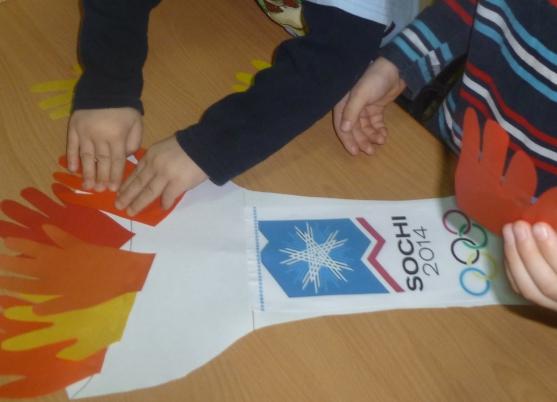 Сделать олимпийский факел своими руками
