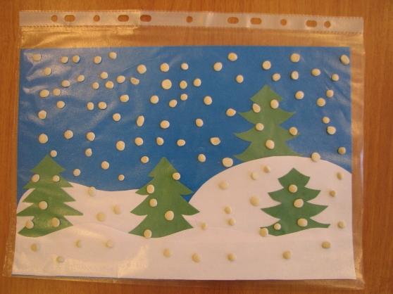 Конспект совместной деятельности по пластилинографии с детьми 1 младшей группы на тему: «Белые снежинки кружатся, летят!»