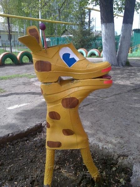 Поделки на участок в детском саду своими руками