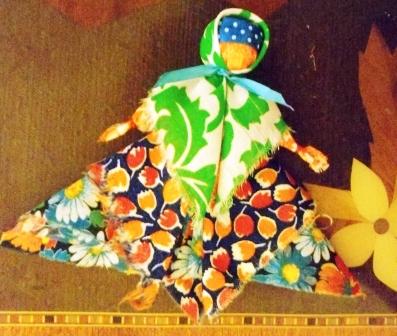 Русская традиционная кукла-оберег «От худого слова»