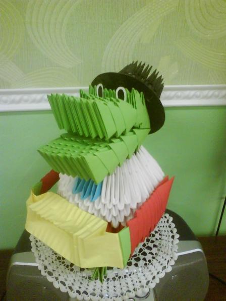 Светлана Гудкова.  27 апреля 2013. модульное оригами.  Просмотров: 321.  Предыдущая.