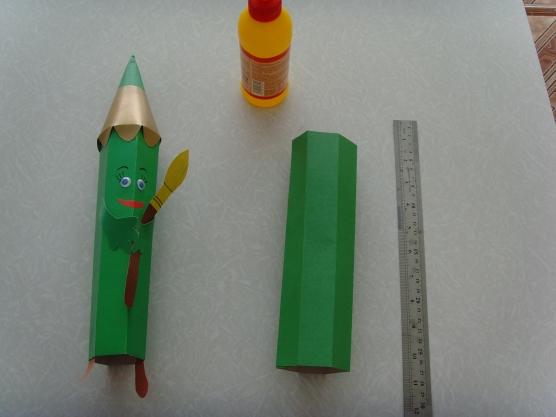 Как сделать большие карандаши