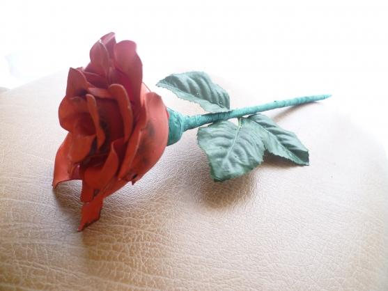 Как из ложек сделать розу