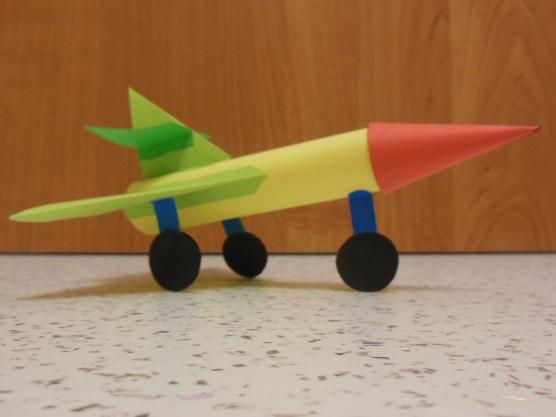 Самолет из бумаги своими руками в детский сад