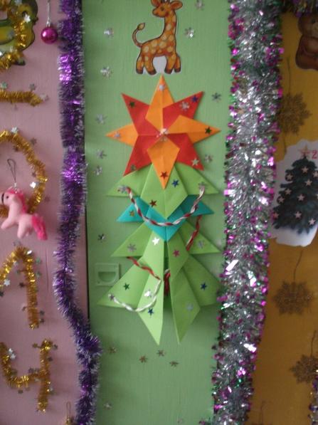 Как украсить шкаф к новому году своими руками