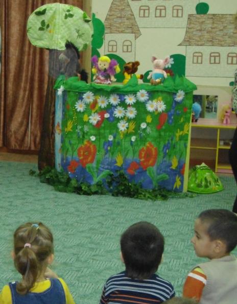 Детская мебель зелёного цвета