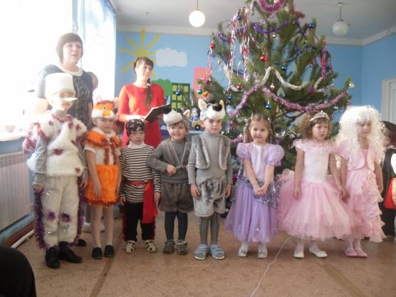 Сценарий новый год с гномами в детском саду