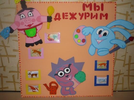 Своими руками уголок дежурства в детском саду