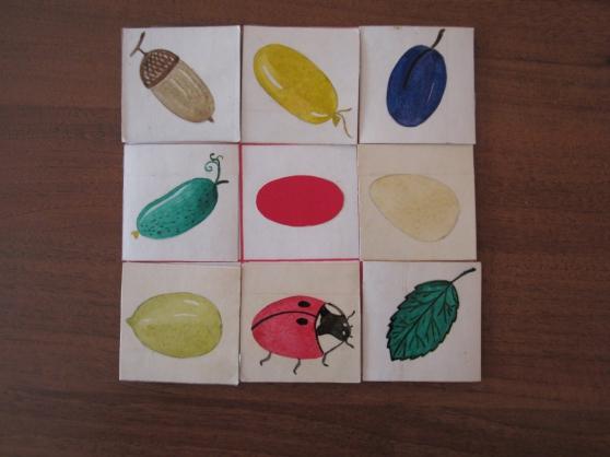 Рисуем группу предметов одной формы