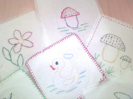 Салфетки рисунки своими руками 60