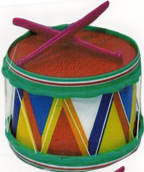Музыкально-дидактическая игра «Колокольчик — барабан»