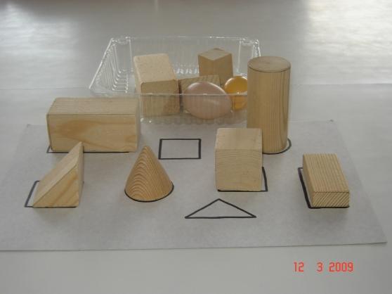 игры для детей знакомство с геометрическими телами