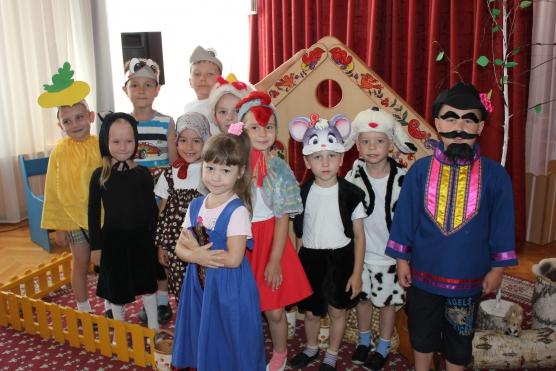 знакомство детей с театром конспект