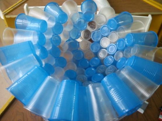 Пластиковые стаканов мастер класс