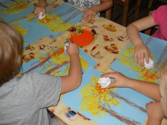 Техника рисования в детском саду