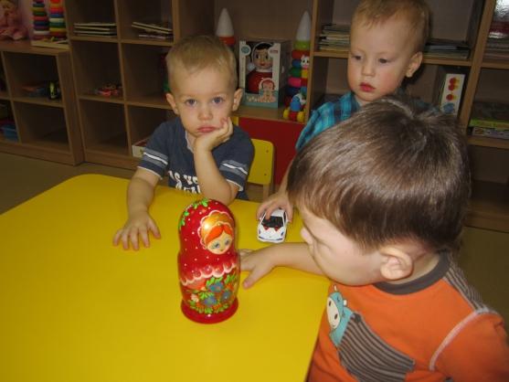 знакомство дошкольников народной игрушкой